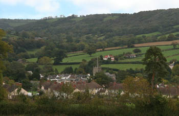 Sidbury Village, Devon